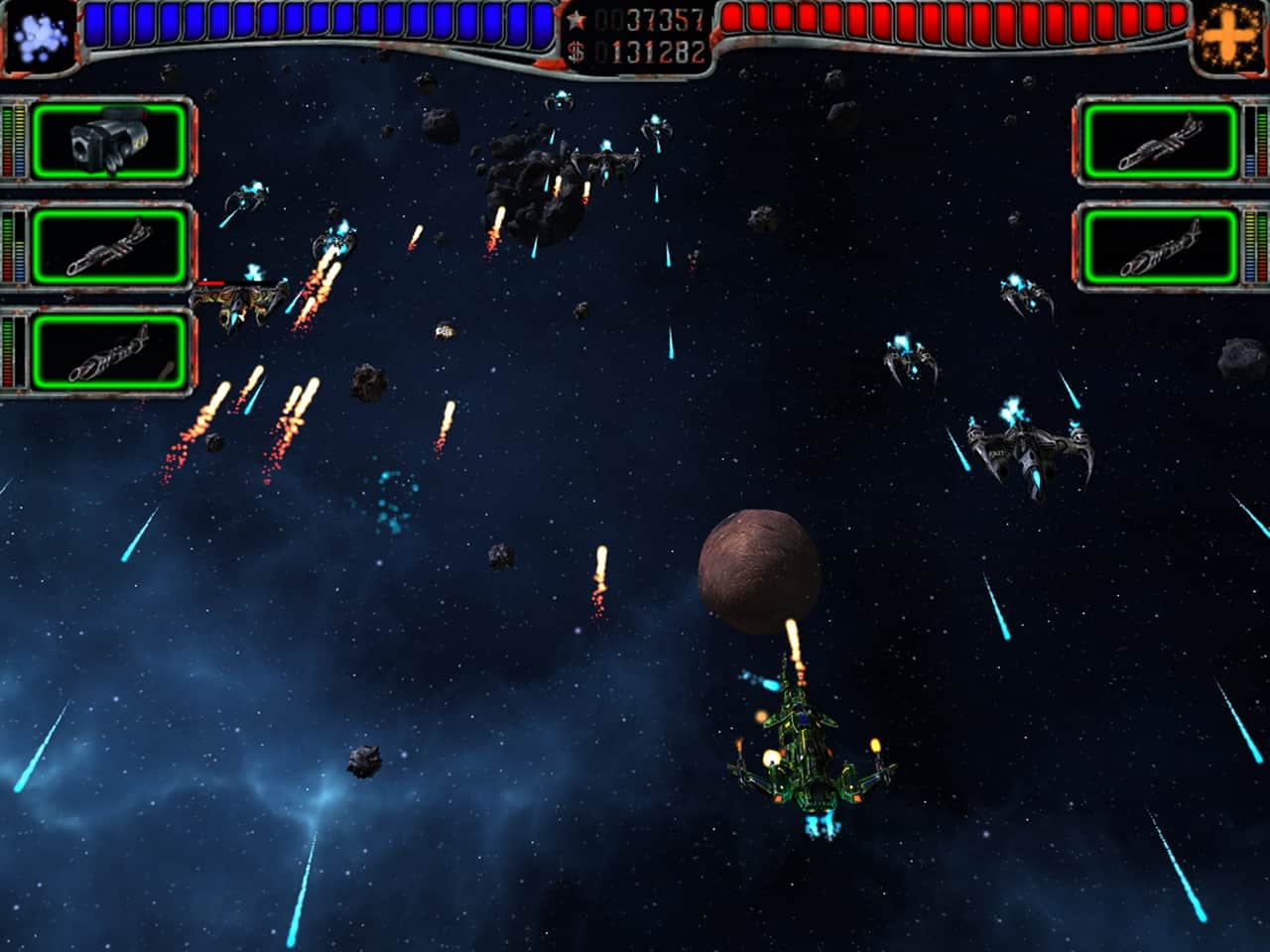 Object Information AstroMenace - Free 3D Space Shooter PC Game