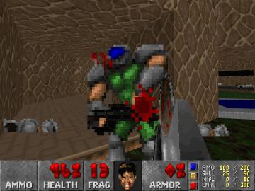 Freedoom a free FPS Games clone version of DOOM 2