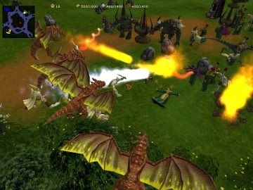 Glest 3D Free Real Time Strategy Game with Two Factions at War2