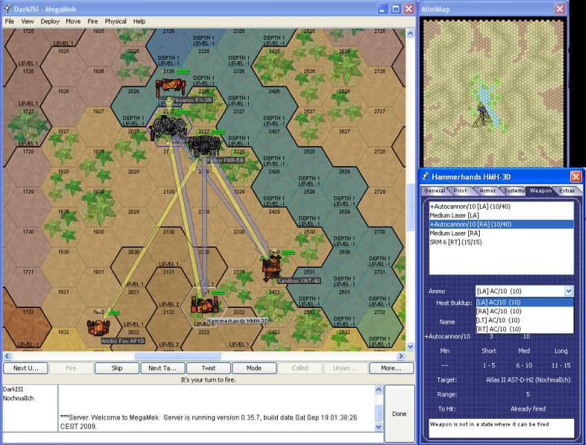 MegaMek Free Turn Based Strategy Battle Tech Game - FOSS Games