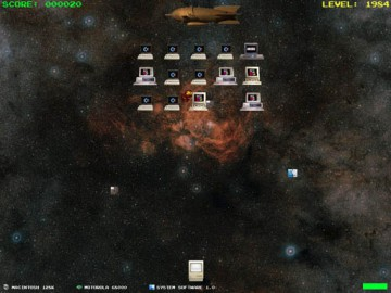 MicroWar an Arcade Space Invaders Style Game1