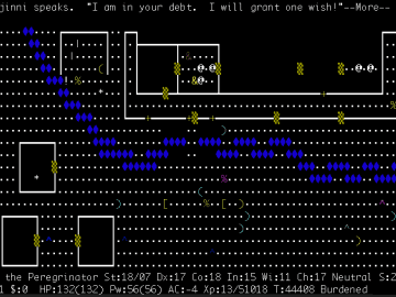 NetHack Free single player roguelike RPG with ASCII graphics 1