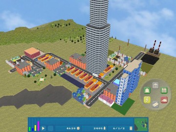 OpenCity Free Open Source 3D City Building Game