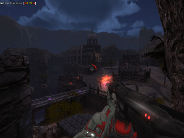 Red Eclipse Free Open Source Arena Shooter Game with Parkour