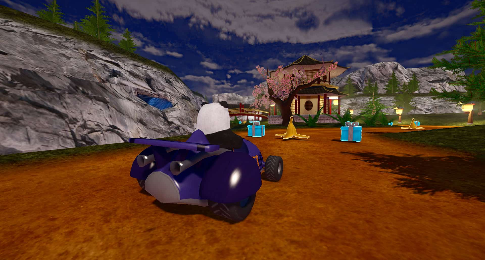 SuperTuxKart - a Free Download Kart Racing Video Game Featuring the Linux Mascot Tux
