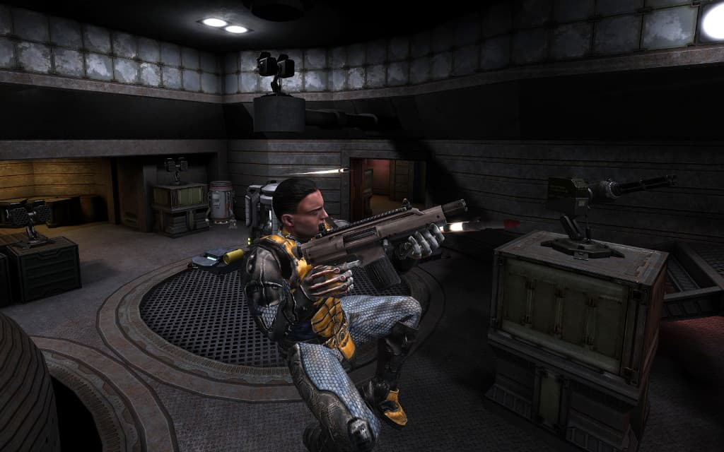 Unvanquished - a Free Open Source Multiplayer Online FPS and RTS Game