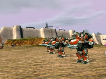 Zero K Free Download Cross Platform RTS Game where massive robot armies fight each other1