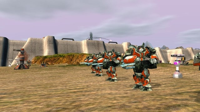 Zero-K - Cross-Platform RTS Game robot armies fight each