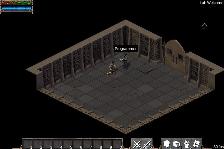 Flare - Free 2D dark fantasy style fast paced action RPG game engine
