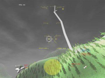 GL 117 Free Action Combat Flight Simulator Game