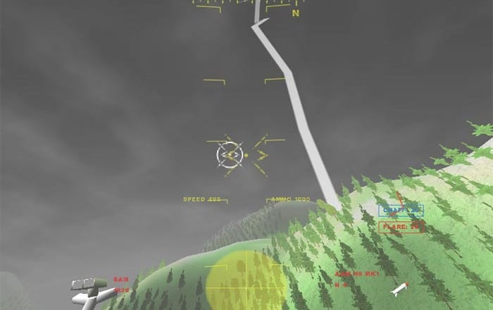 GL 117 Free Action Combat Flight Simulator Game