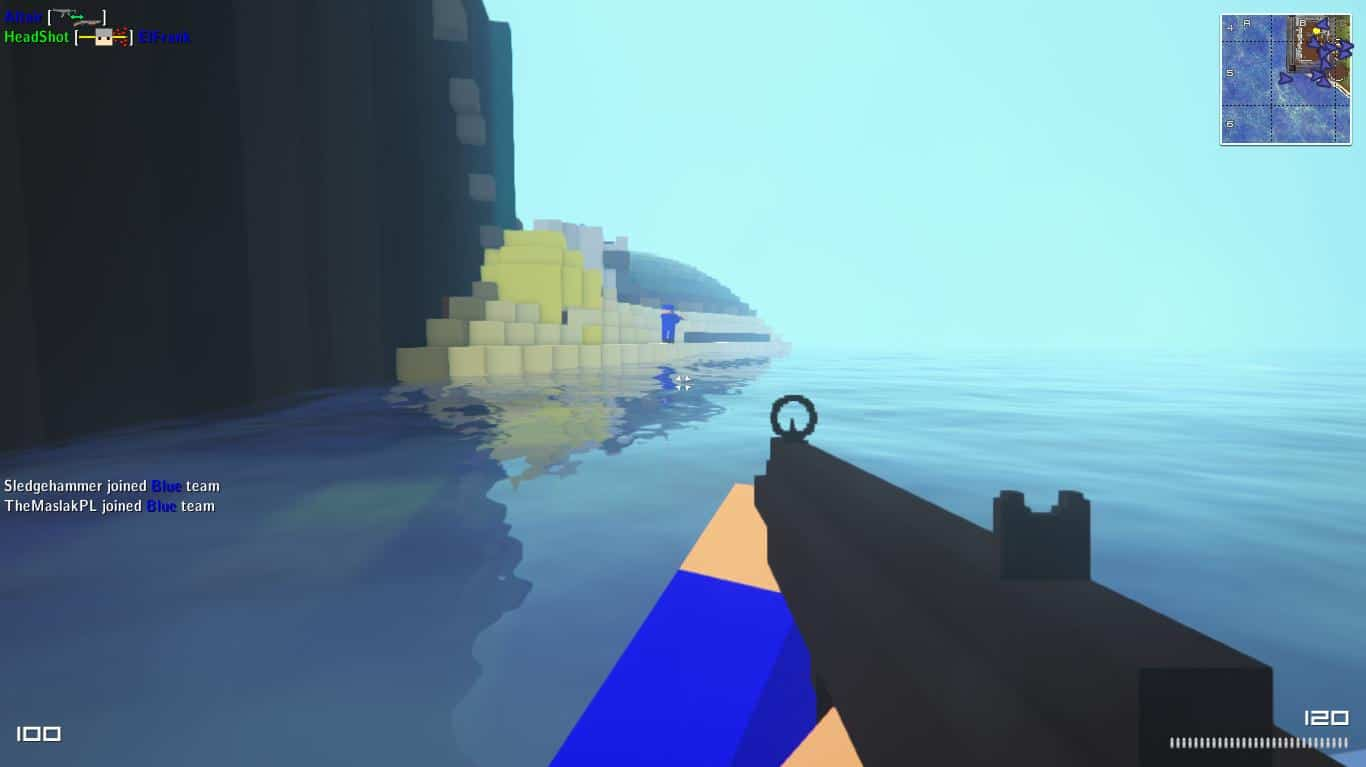 OpenSpades - Free Open Source Sandbox Building and FPS in one game