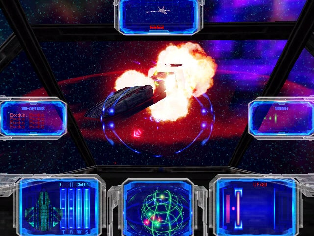 RiftSpace - a Free Space Exploration and Combat Game