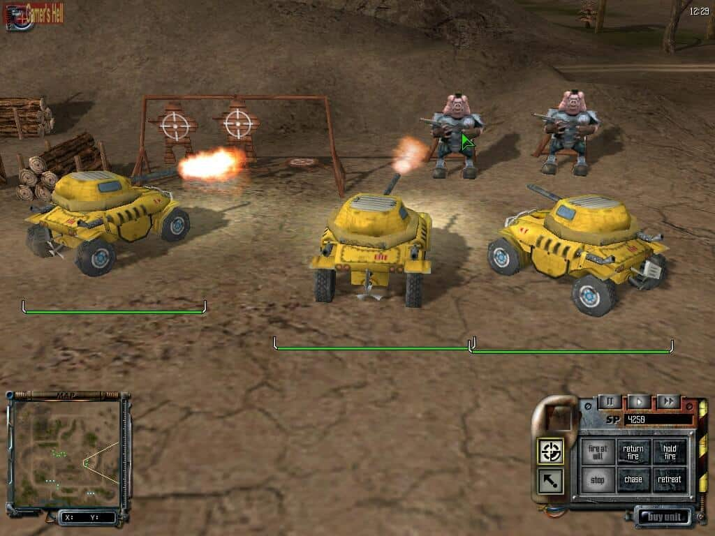 S.W.I.N.E. - a Free Real Tactics Strategy Game