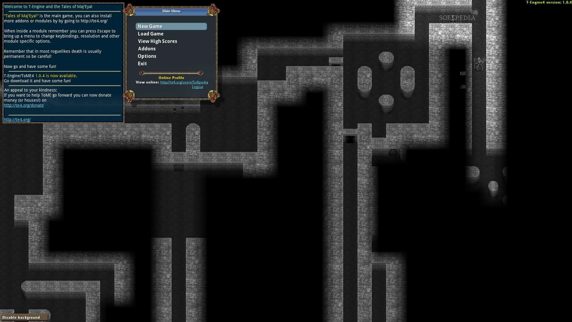 Tales Of Maj'Eyal - an open source roguelike RPG video game