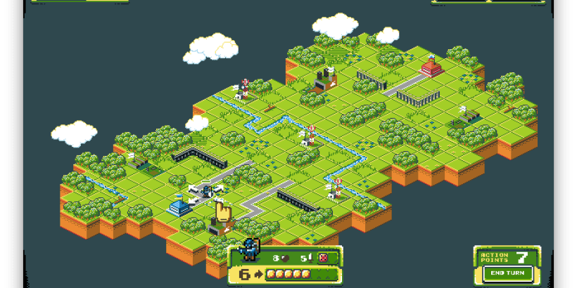 Tanks of Freedom Free Open Source Isometric Turn Based Battle Tank Game