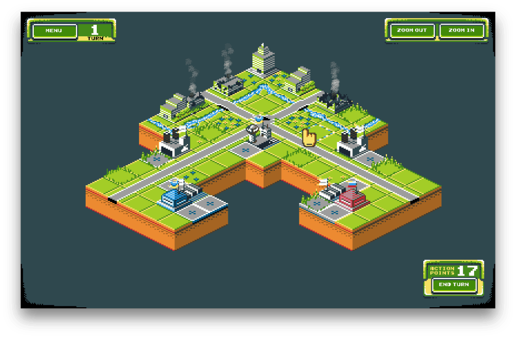 Tanks of Freedom - Free Open Source Isometric Turn Based Battle Tank Game