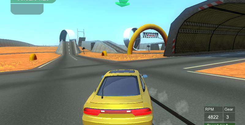 Tile Racer Free Download 3D stunt racing game with realistic car physics