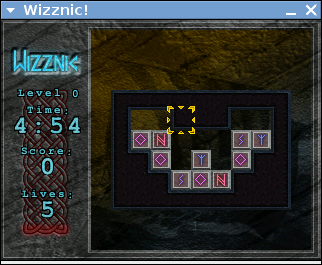 Wizznic - Free Open Source Puzzle Game where your goal is to destroy the bricks