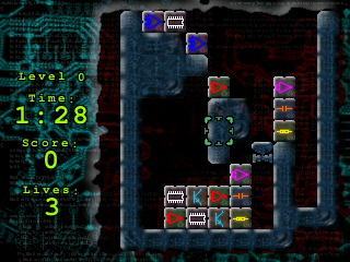 Wizznic Free Open Source Puzzle Game where your goal is to destroy the bricks1