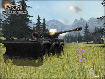 Zero Ballistics another free Tank Game with unique blend of FPS and tank combat2