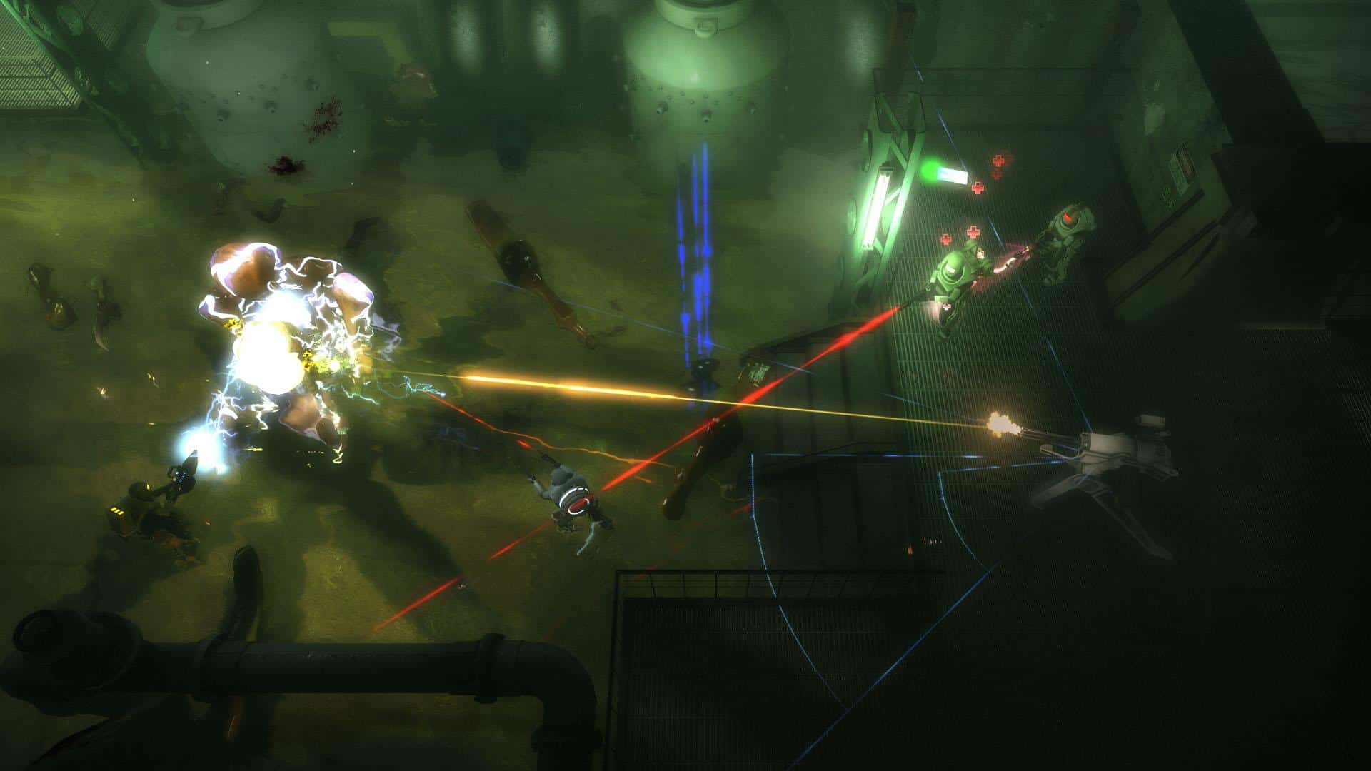 Alien Swarm - a free top down shooter game from Valve