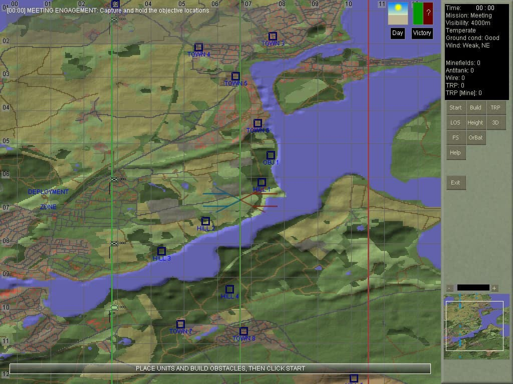Armored Brigade - a freeware real-time tactical wargame