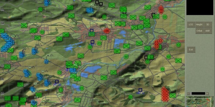 Armored Brigade a freeware real time tactical wargame