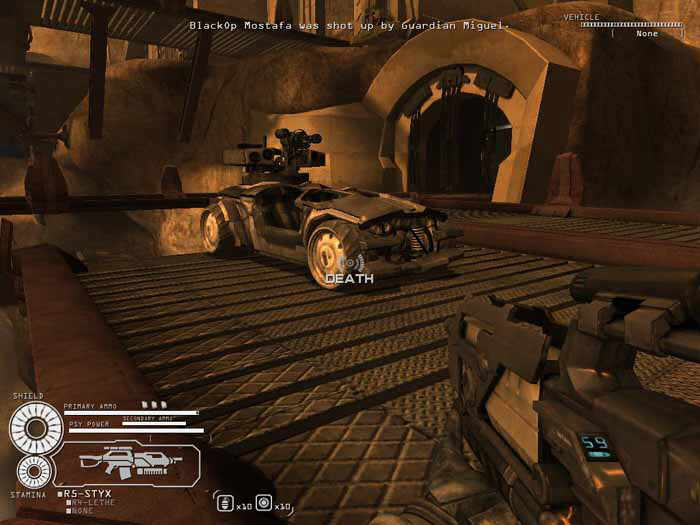 CellFactor: Revolution - Free PhysX First Person Shooter Game