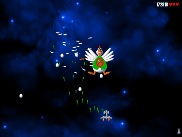 Chicken Invaders Free Shoot em up Game about space faring chickens 1
