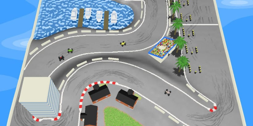 GeneRally an arcade style top down racing game