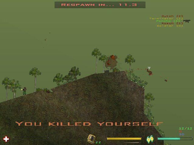 Soldat - a unique 2D side-view multiplayer action game
