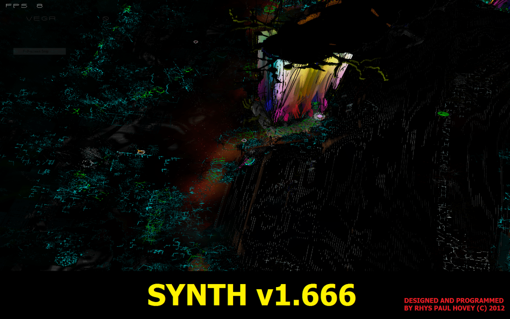 Synth - Free 3D RTS Game with Proceduraly Generated Levels